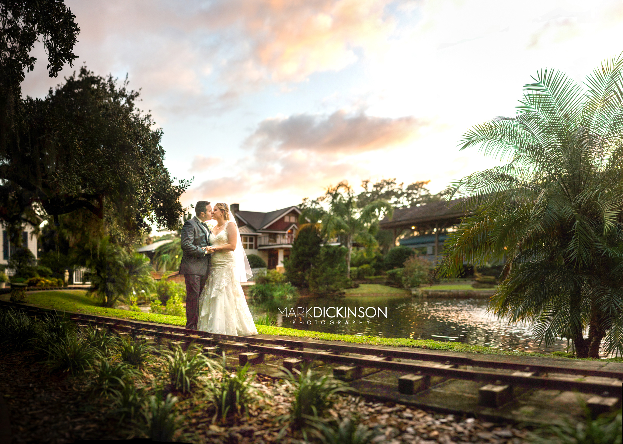 Amazing Central Florida Wedding Sunset