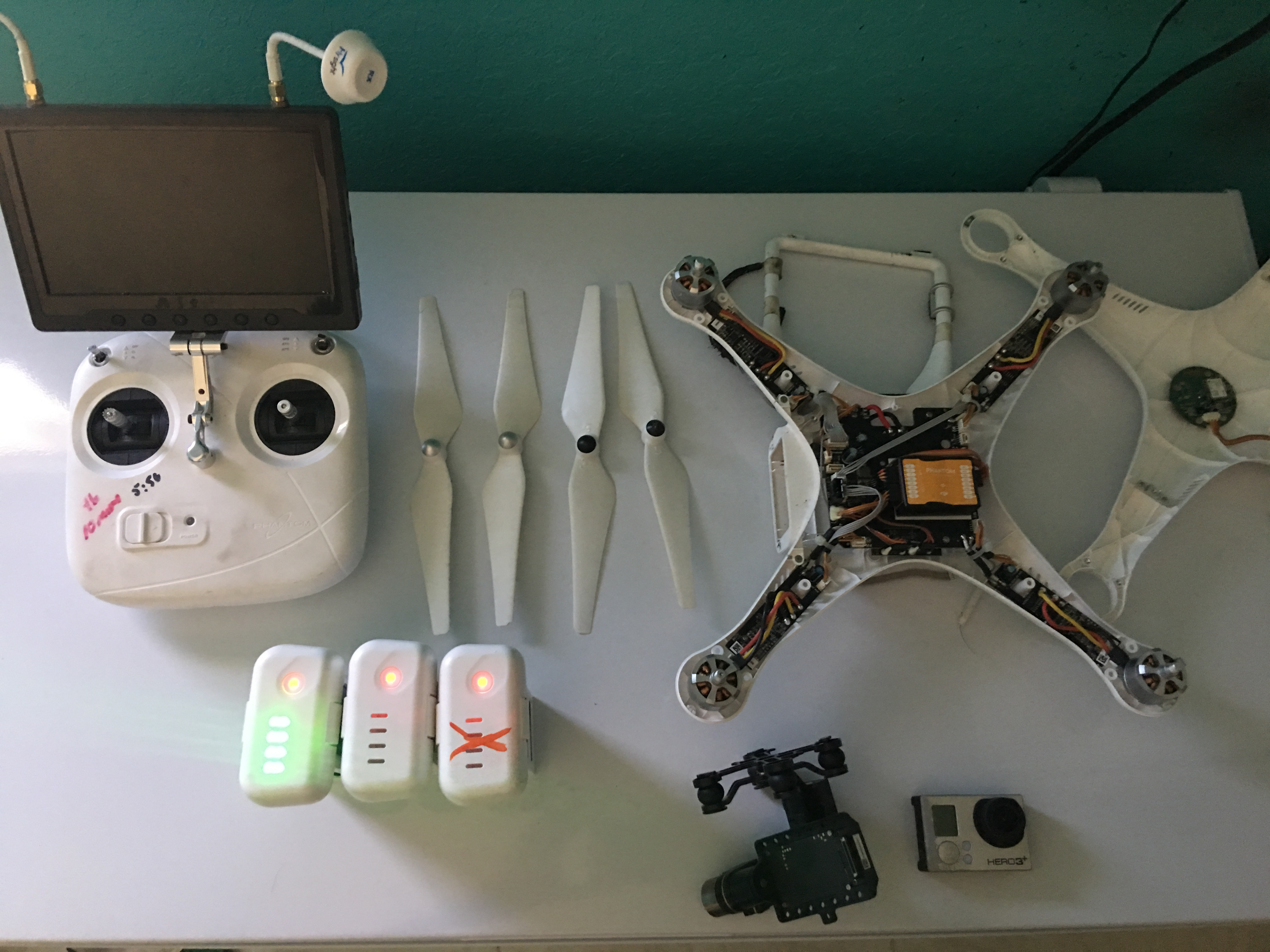 DJI Battery Failure Phantom 2 Phantom 3