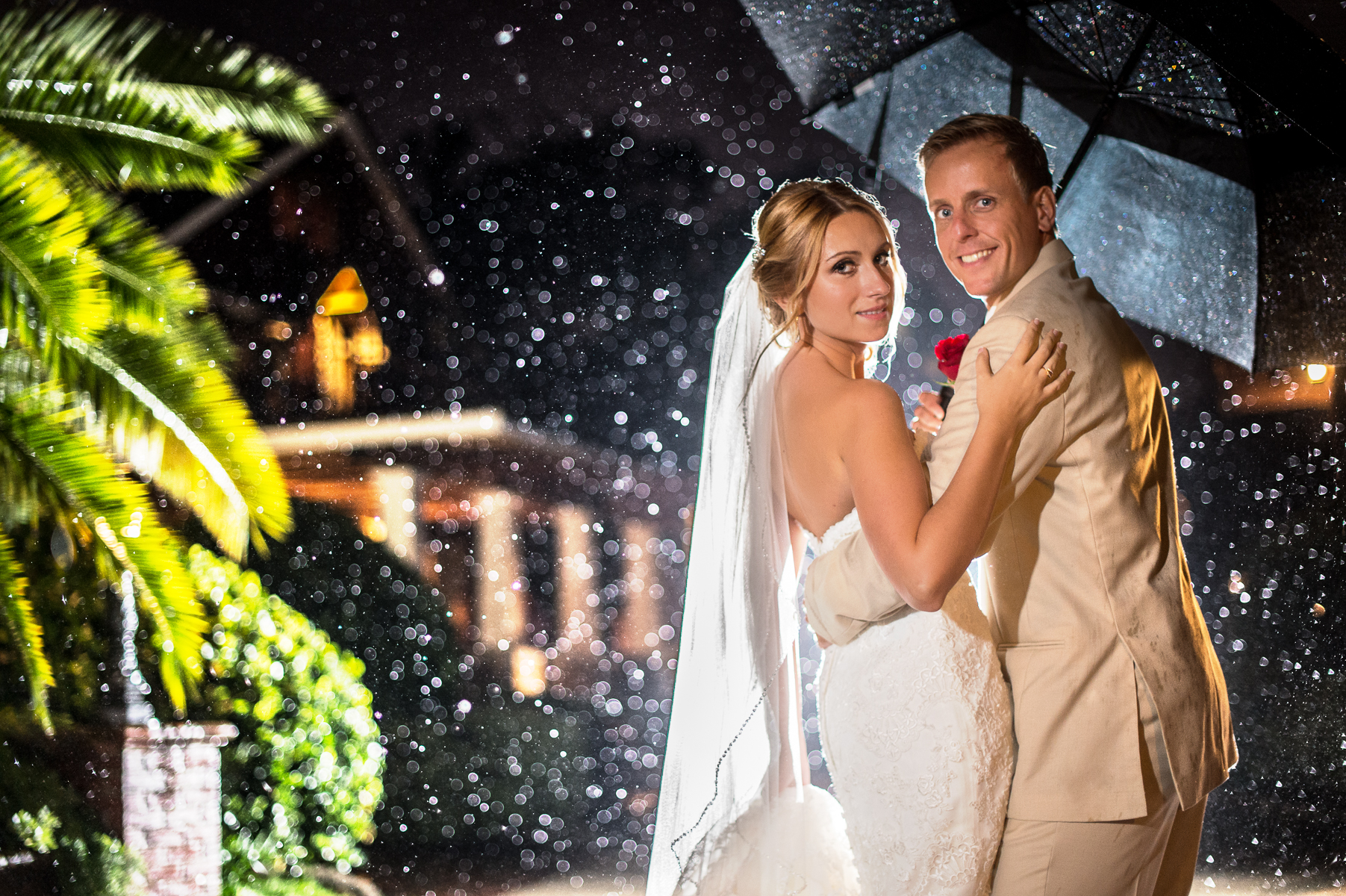 Best Rain Photography Wedding Central Florida