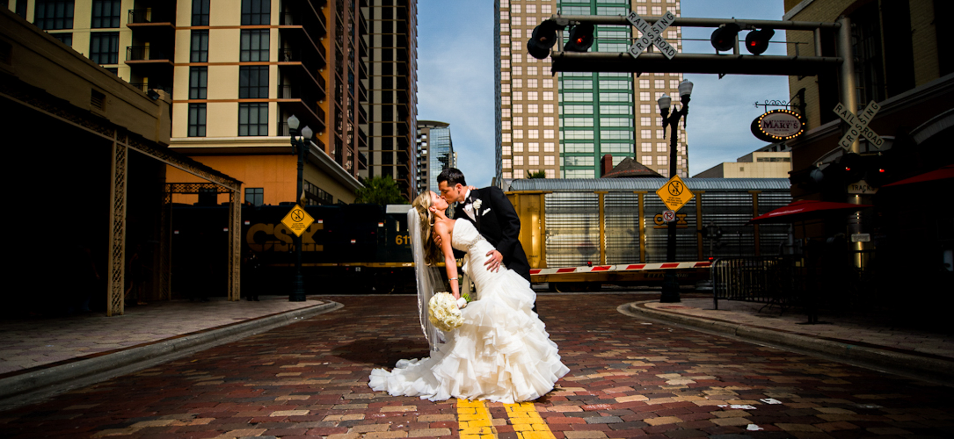 Orlando Wedding Photographer at Church Street Station